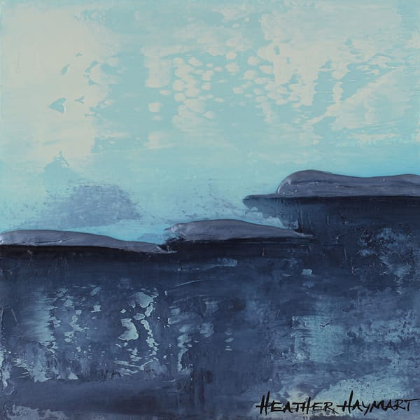 Stormy Cliffs - original painting
