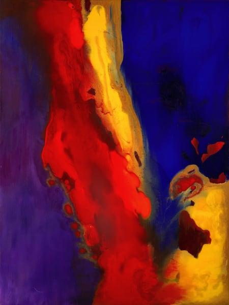 Explosion Of Emotion Art | Rhona LK Schonwald