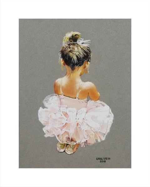 The Littlest Ballerina Art | Greg Stett Art