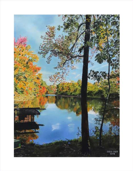 Tranquil Reflections Art | Greg Stett Art