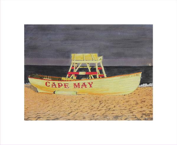 Cape May Lifeboat Art | Greg Stett Art
