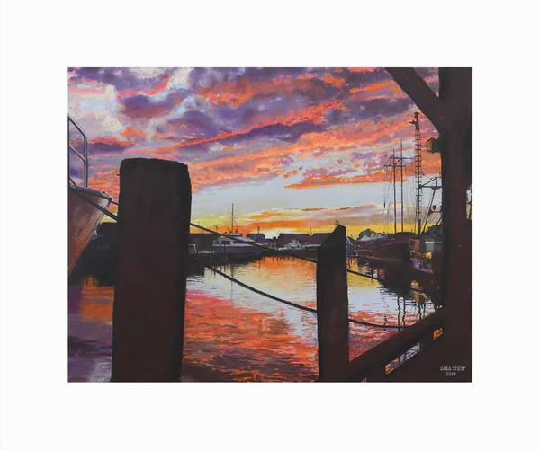 Resplendent Sunset Art | Greg Stett Art