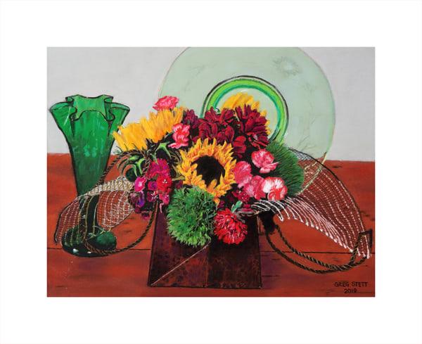 Still Life With Flowers Art | Greg Stett Art