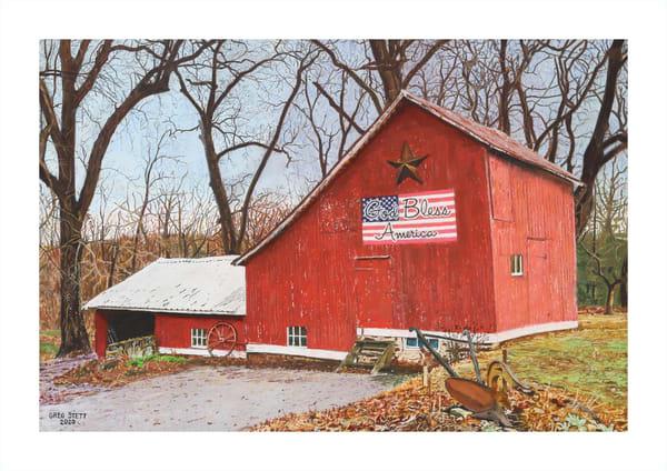 Weathered Barn Art | Greg Stett Art