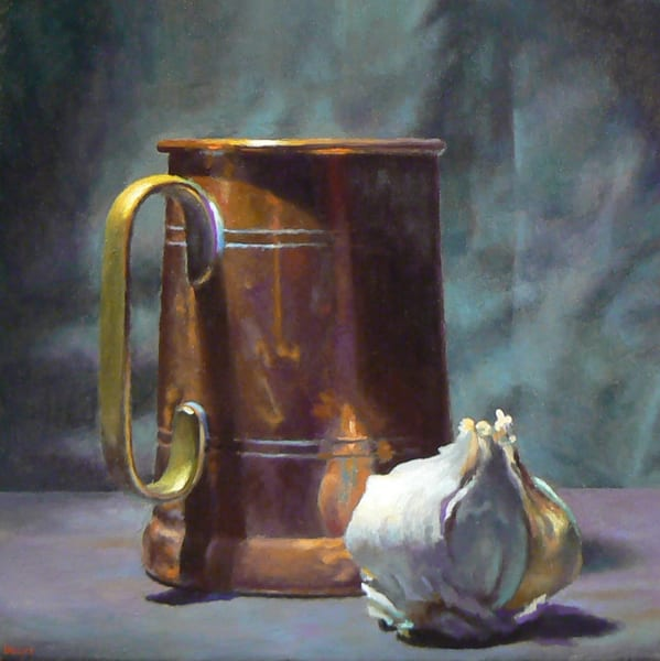Copper And Garlic Art | Jeff Hayes Fine Arts
