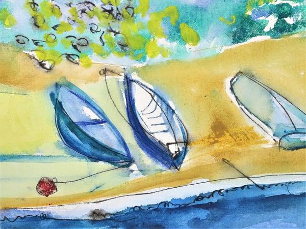 Sunbathing  Boats   Sold Art | Full Fathom Five Gallery