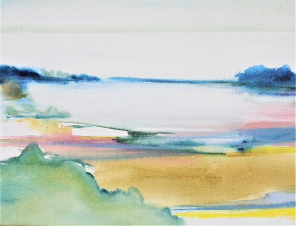 A Walk Down To The Cove  Sold Art | Full Fathom Five Gallery