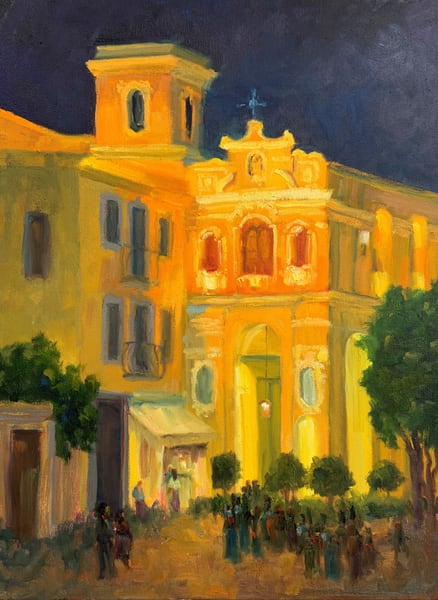Return To Sorrento Art | B. Oliver, Art