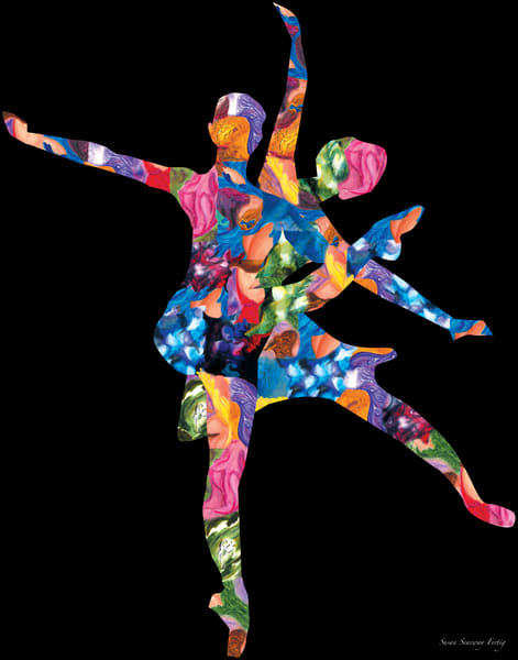 Rhythmic Beauty | Persona: A Figurative Series | Digital Art