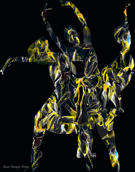 Sense of Self II | Persona: A Figurative Series | Digital Art