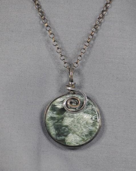 MaryAnn Swinney - handcrafted jewelry - necklace - Serophenite Necklace