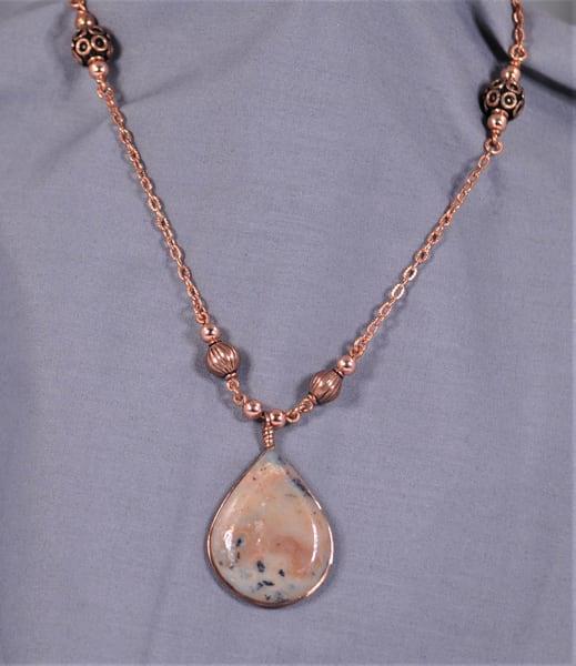 MaryAnn Swinney - handcrafted jewelry - Wanong Opal Teardrop Necklace