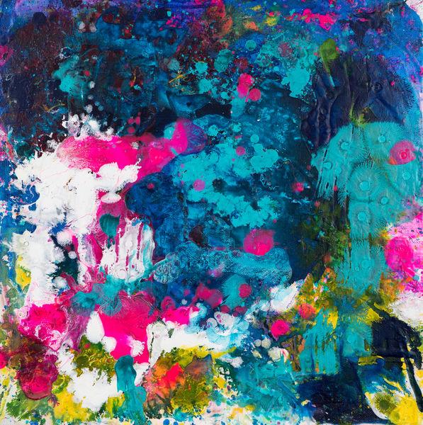 Down Down The Flowers Fell One By One Art | Éadaoin Glynn