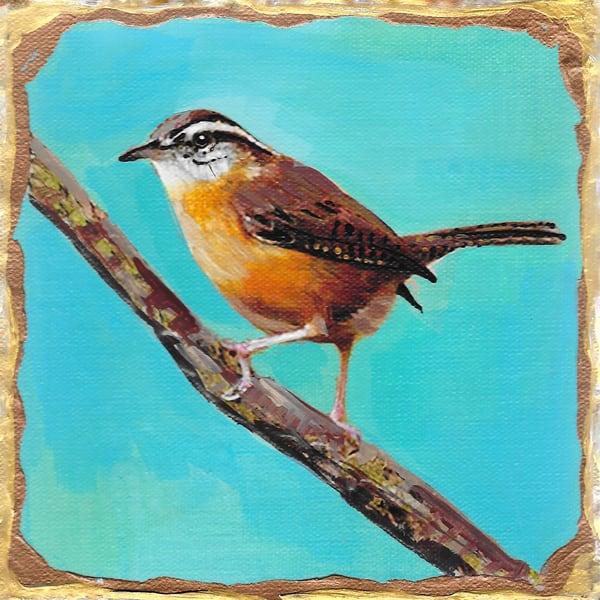 Carolina Wren Art | Channe Felton Fine Art