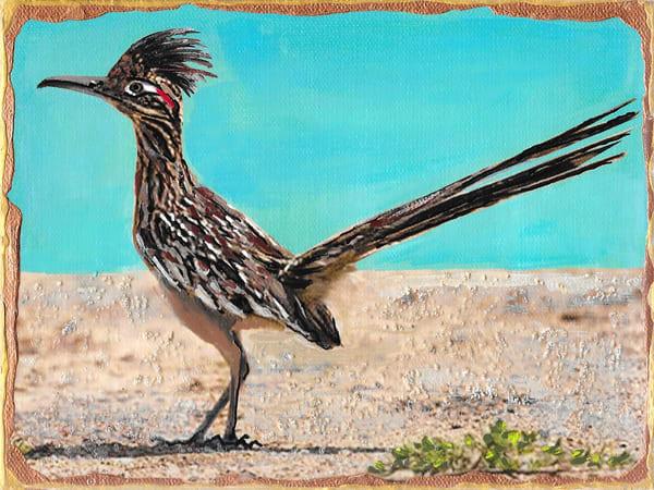 Greater Road Runner Art | Channe Felton Fine Art