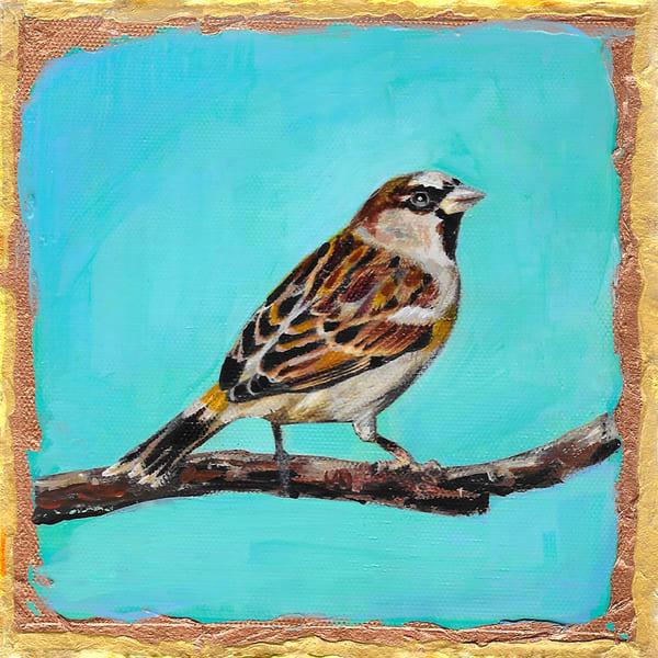 House Sparrow Art | Channe Felton Fine Art