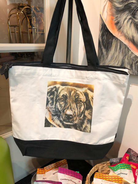 Lucky Girl Shopping Bag | artloversgallery