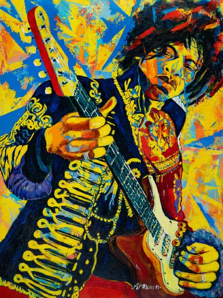 Purple Haze 1, Jimi Hendrix