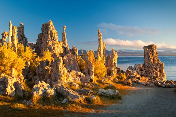 """Tufa Formations at Sunrise"" print 