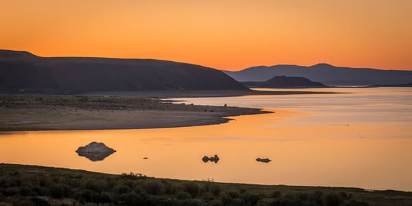 """Morning Light on Mono Lake"" print 