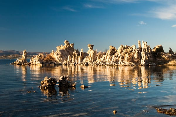 """Mono Lake Reflections"" print 