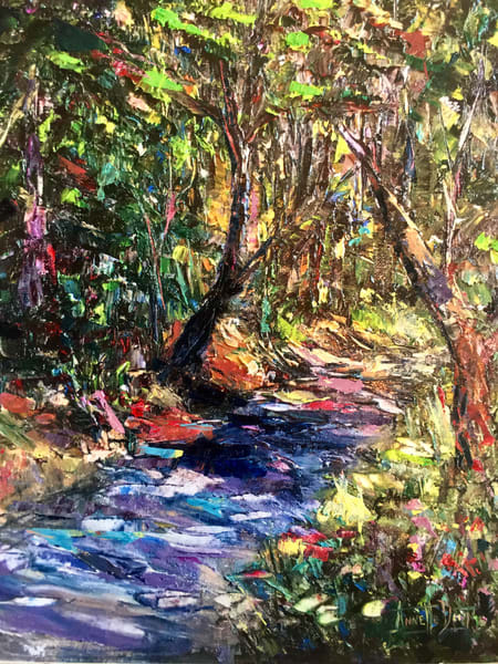 Welcome To Mud Flat Ranch Art | vibrant art studio, Art by Annette Dion McGowan