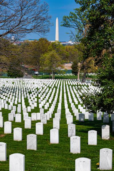 Washington Monument Over Arlington
