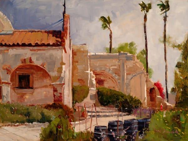 Mission San Juan Capistrano Art | Toni Danchik Fine Art