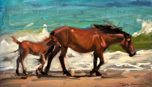 Walking The Surf Art | robincaspari
