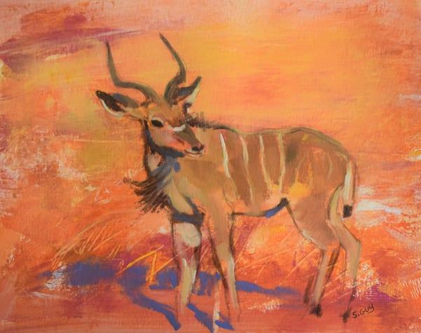 Kudu Grace   Original Oil Art | Sharon Guy
