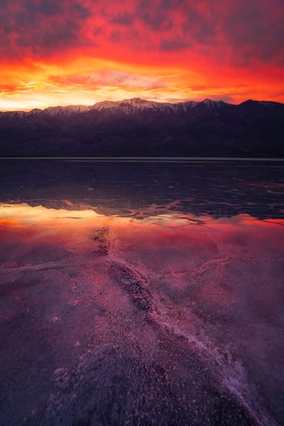 'Fire Above & Water Below' Photograph by Jess Santos for sale as Fine Art