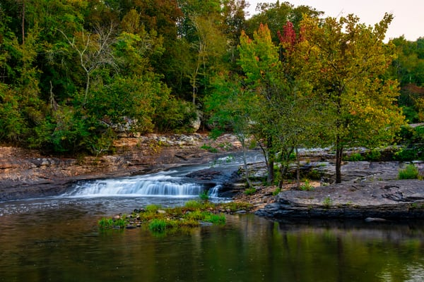 Town Creek Waterfall — Alabama waterfalls fine-art photography prints