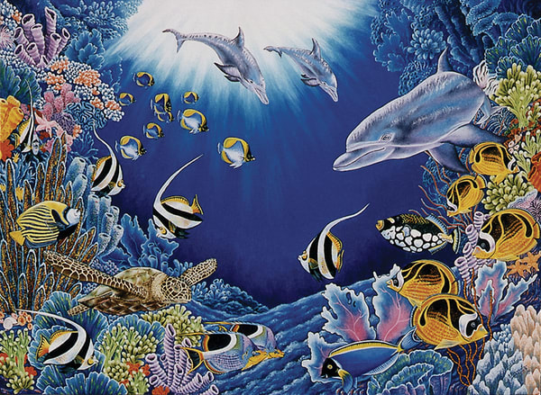 Underwater World   Limited Edition  Art | Mercedes Fine Art