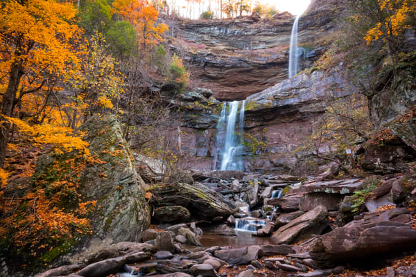 Kaaterskill Falls, Autumn Photography Art | Quiet Heart Images, LLC