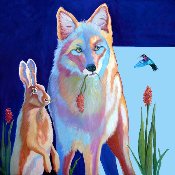 The Hare, Coyote and the Hummingbird