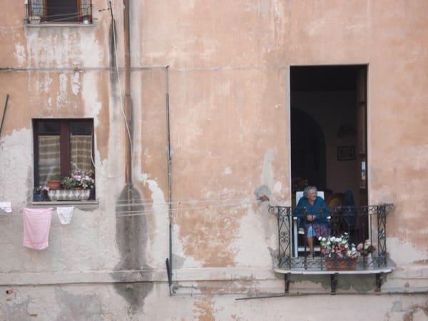 Greeting Card   The Neighbor, Cagliari  | Photoissimo - Fine Art Photography