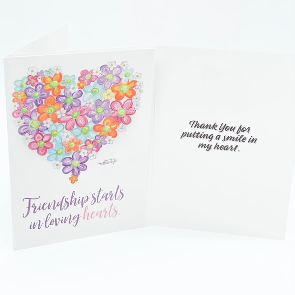 Twitterpated Thank You Card | Heartworks Studio Inc