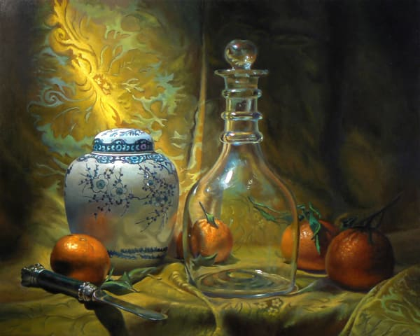 Four Oranges Art | Jeff Hayes Fine Arts