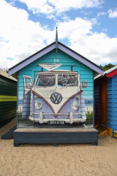 Vibrant Hut At Brighton Beach Photography Art   Julie Williams Fine Art Photography