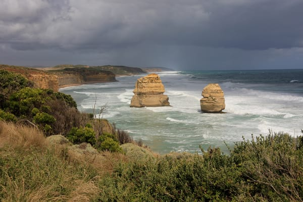 Moody Sky Around The 12 Sisters Photography Art | Julie Williams Fine Art Photography