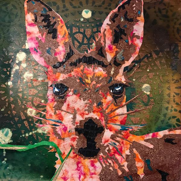 Kangaroo Art   Kristi Abbott Gallery & Studio