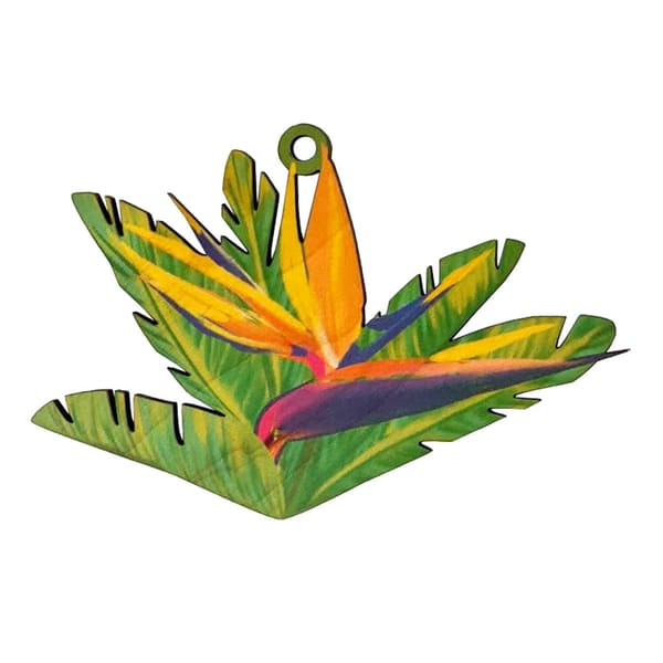 Bird Of Paradise Ornament | Pictures Plus
