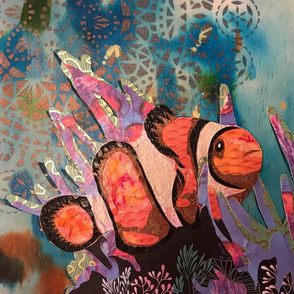 Clown Fish Art   Kristi Abbott Gallery & Studio