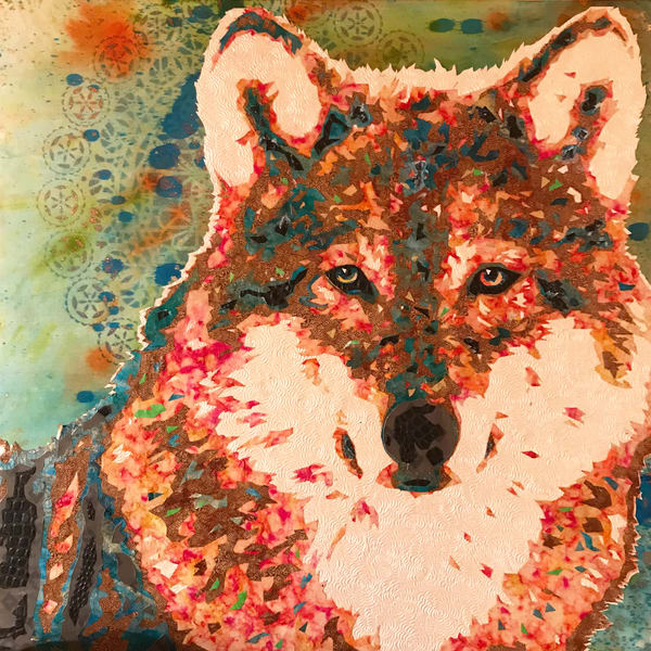 Wolf Art   Kristi Abbott Gallery & Studio
