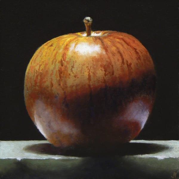 Red Apple No. 4 Art | Jeff Hayes Fine Arts