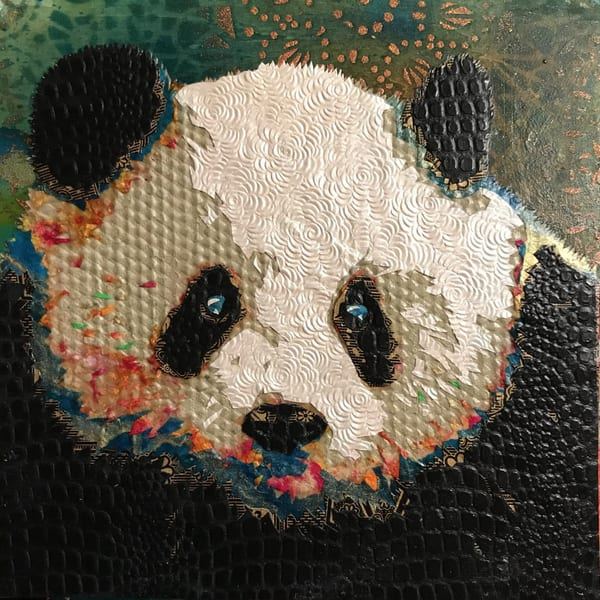 Panda Art   Kristi Abbott Gallery & Studio