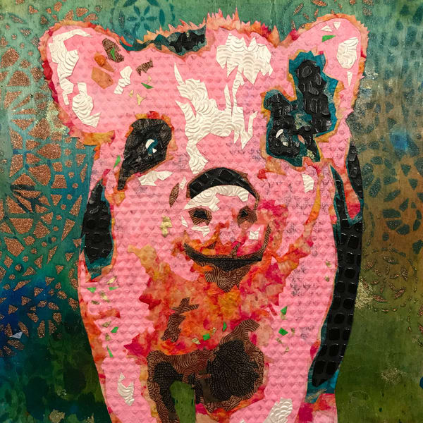 Pig Art   Kristi Abbott Gallery & Studio