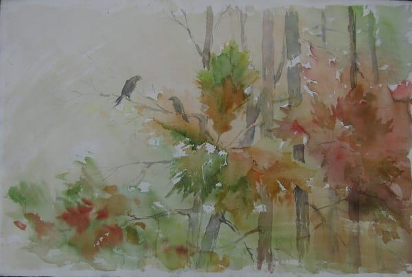 Birds On The Branches Art | Vesna Longton Art