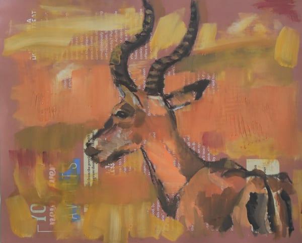 Gazer   Original Art | Sharon Guy