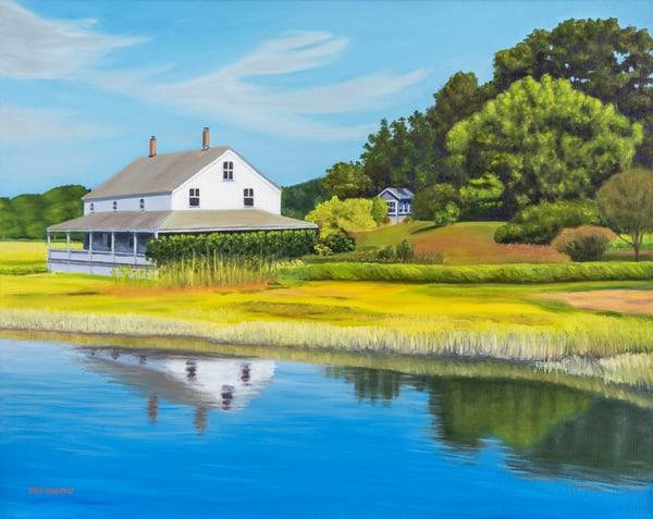 At The Edge Of The Marsh Art | The Art of David Arsenault